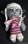 Drow Plushie by drow-of-darkness