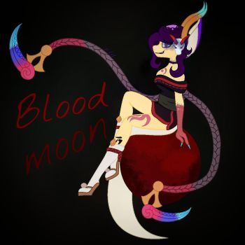 Blood moon Evelynn coseplay Pofols by proflovedogs