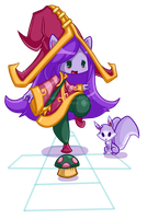 Lulu plays hopscotch! J!NX Entry by RinTheYordle
