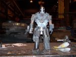 Iron Man welded statue by edstuff