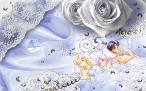Usagi + ChibiUsa + Mamoru by Hallucination-Walker