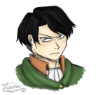 First Levi sketch redo by Zerolr-RM