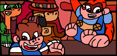 Donkey Kong Country 4: Kiddy Kong Goes West by TheGr8DemonKing