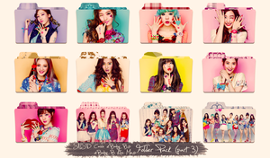 SNSD ~Casio Baby G/Kiss Me~ Folder Pack Part 3 by ShimSungHyo