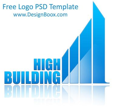 High Building PSD Logo Template by MansyDesignTools
