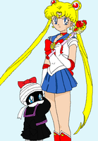 Tanis with Sailor Moon by Prentis-65