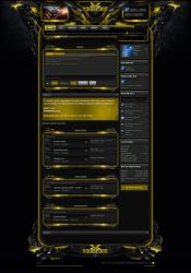 Xenforo Theme Enforcer Yellow by Nulumia by Nulumia