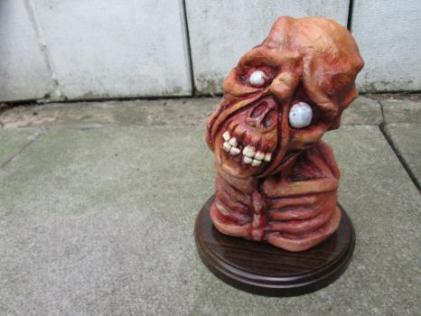 Fallout Feral Ghoul Bust. by APlaceForStuff