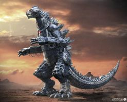 MechaGodzilla (Ready Player One) by Awesomeness360
