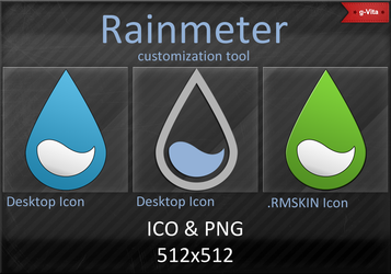 RainMeter Icons by g-Vita