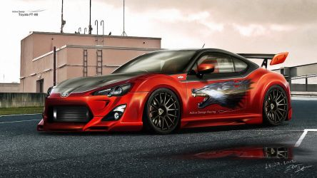 Toyota FT-86 by Active-Design