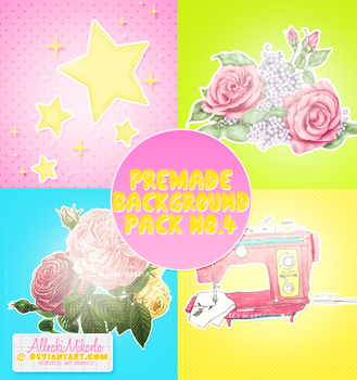 Premade Background Pack No.4 by AlleakiMikaela