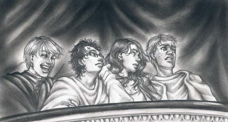 +HP+ . At the Theatre by LadyBelial