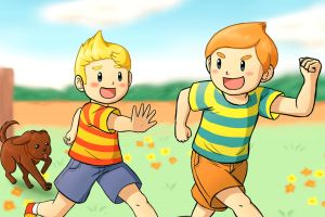 Playday (Mother 3) by Beary-Boo