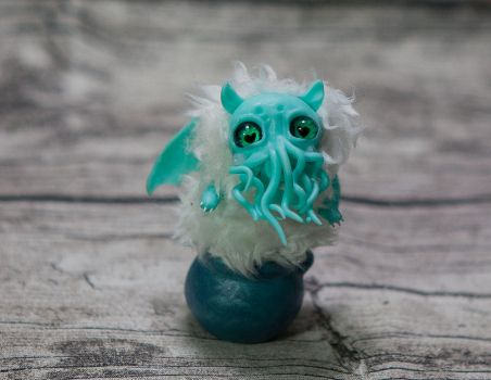 Baby cthulhu by Furrykami-creatures