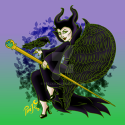 Maleficent by PrejXIII