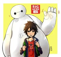 Big Hero 6 by Nataly2