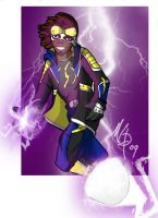 Static Shock by markbot09