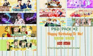 [PSD Pack] #2 Happy Birthday to Me [Free] by jangkarin