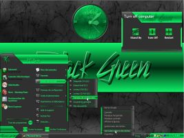 My Black Green wb by Xav73