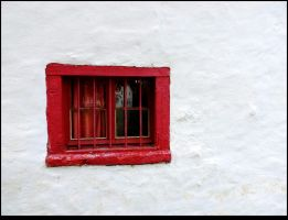 The Red Window by JocelyneR