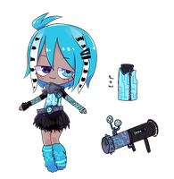 Cybergoth Adopt AUCTION CLOSED by MaiaSadoptsNstuff