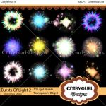 Bursts of Light Flares Pack 2 by CntryGurl-Designs