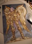 Saint Seiya Gold Belier by golgoth71