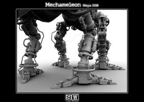 Mechameleon Legs Occlusion by iFeelNoSorrow