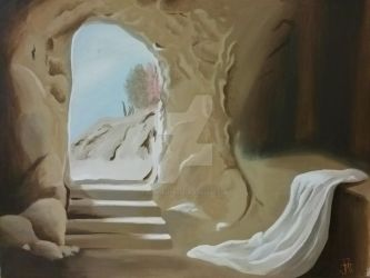 Empty Tomb by happykitten13