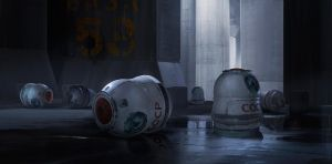 Space capsule by sheer-madness
