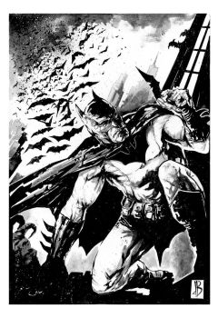 Batman Commission by SilviodB