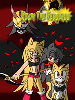 Kechi The Hedgehog Official Story Cover by SelanaireQueen