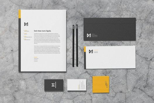 Chroma - Stationery Template by macrochromatic