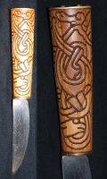 Viking Knife by DarkSunTattoo