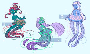 Jellymaids adopts - CLOSED by Looji