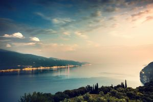 lago di garda, Gardasee by Mark-Heather