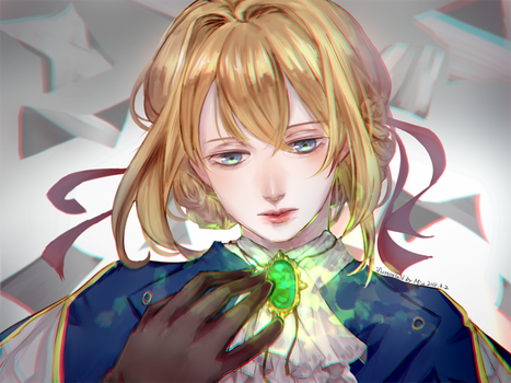 Violet Evergarden by Miu0813