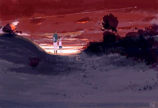 The long weekend walk. by PascalCampion
