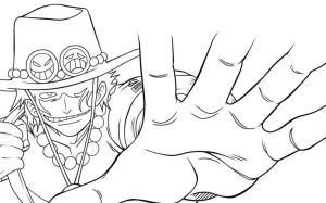 Ace Lineart by D-Aare