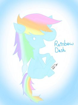 Rainbow Dash by hoppy9046