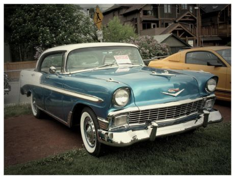 1956 Chevy Belair by prey-for-the-weekend