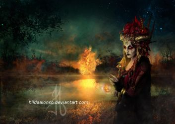 Setting the world on fire by HildaAlonso