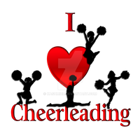I Heart Cheer Leading by kashmier