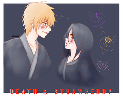 death and strawberry by MomoAiko
