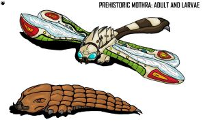 G.A: Prehistoric mothra by Blabyloo229