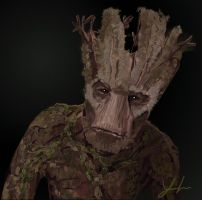 Groot by RedSaucers