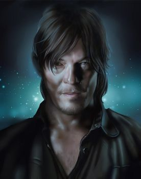 norman reedus fanart by IQuoter