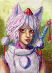 Momiji - Watercolor 2 by winterwolf38