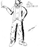 El Gato Electrico by Goncen